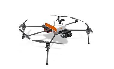 """Le drone """"géomètre Fox6"""" utilisé par les étudiants du Lycée Cantau.  ©DR"""