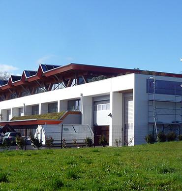 Les locaux de la Fédération Compagnonnique des Métiers du Bâtiment  du site Arkinova.  ©Agglo/V.Biard