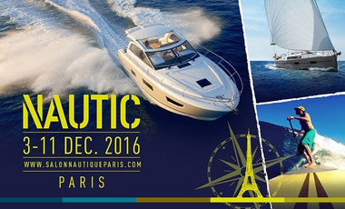 L'affiche du salon nautique de Paris 2016 ©SalonNautique
