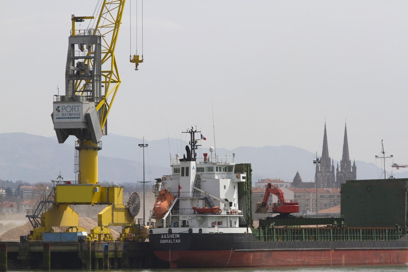 Technopole Cote Basque - port de bayonne
