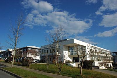 La bâtiment d'ESTIA Entreprendre sur le site d'Izarbel.  ©Agglo/V.Biard